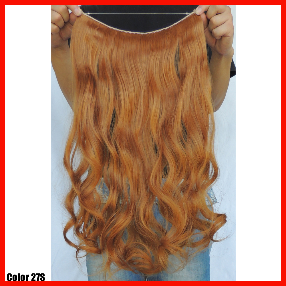 Cabelo sintetico secret hair extensions flip in halo extension cabelo sintetico secret hair extensions flip in halo extension piece 20 inch ginger curly synthetic weave hairpiece color 27s on aliexpress alibaba pmusecretfo Gallery