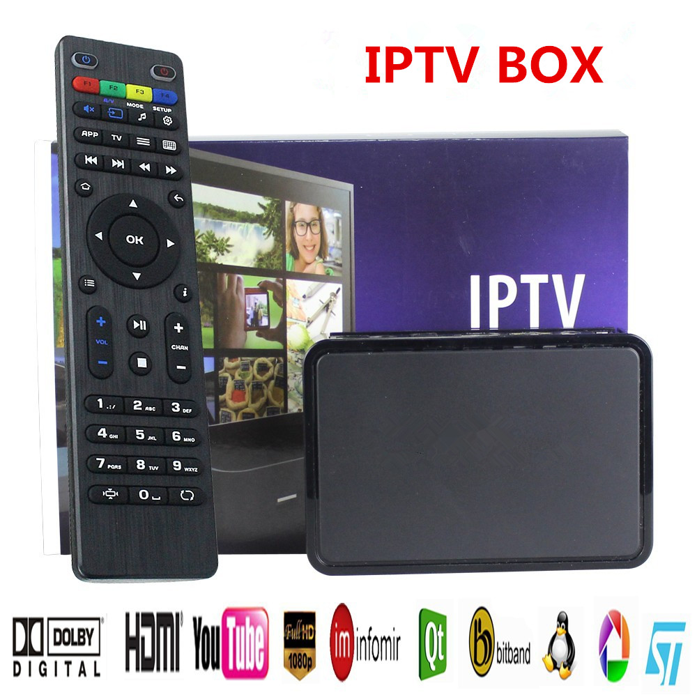 IPTV BOX,2018 Latest IPTV/OTT Box - Fast Processor, faster than MAG 254- With Wi-Fi Dongle With USB WIFI