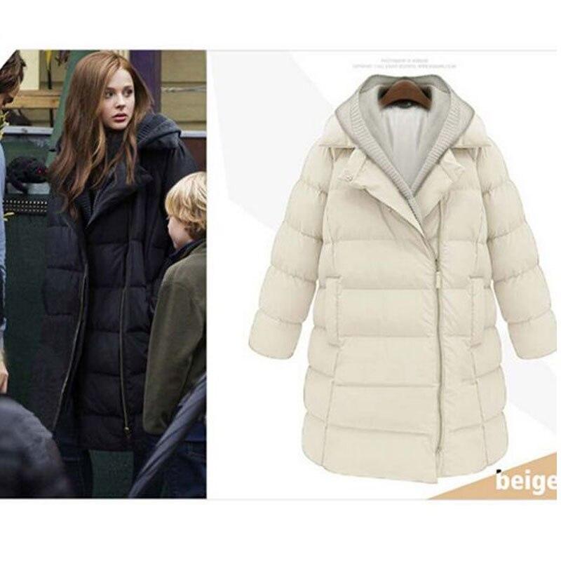 2017 New Fashion Winter Jacket Women Hooded Long Coat White Duck Down Jacket Overcoat Thicken Warm Parkas