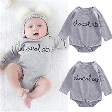2016 New Arrival Summer Winter Clothes Cute Infant Baby Boy Girls Clothing Long Sleeve Cotton Bodysuit Jumpsuit Outfits Sets