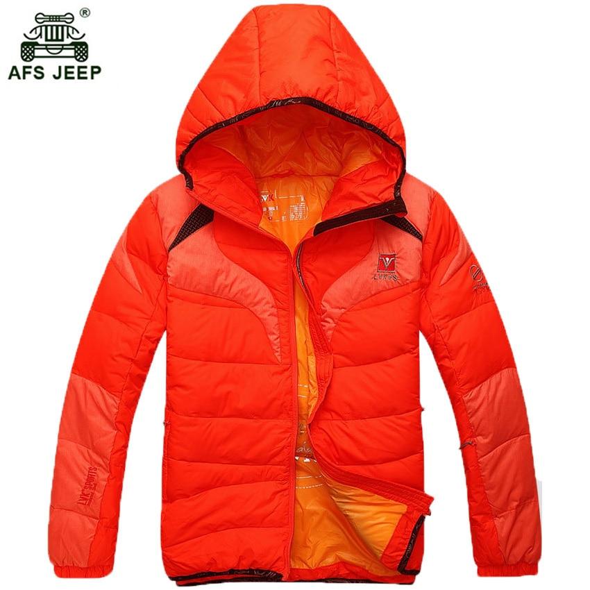 Free shipping 2018 Winter Men Hooded Winter Down Jackets Zipper Slim Clothing Men's Clothing Warm Down Parka Men Duck Down Coats