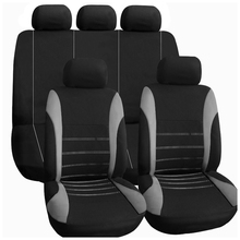 TIROL Car seat cover Interior car accessories Universal style Gray
