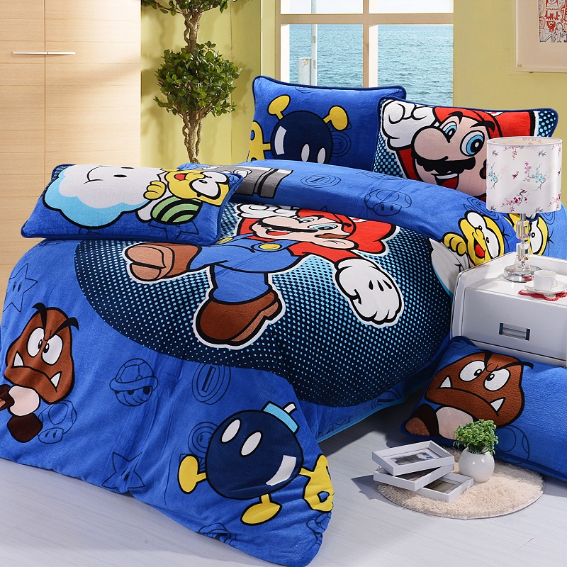 Story trouble always seems to find its way to the mushroom kingdom. Cartoon Super Mario Brothers Children Room Decoration 3pcs Bed Sheet Quilt Duvet Cover Pillow Duvet Cover Bedding Set Bedding Set Cover Bedding Setsbed Sheet Quilt Aliexpress