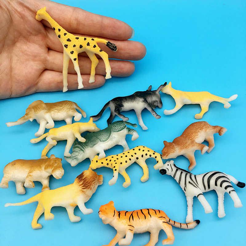מכירה לוהטת מוצק דינוזאור חיות בר ימי חיים דגם סט ילד סימולציה מודל חיה חינוכיים צעצוע חינוך תלמיד מתנה