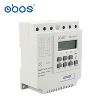 new good credit good quality three phase 380V 25A din weekly timer digital timer with 17 times on/off time set range 1min 168H