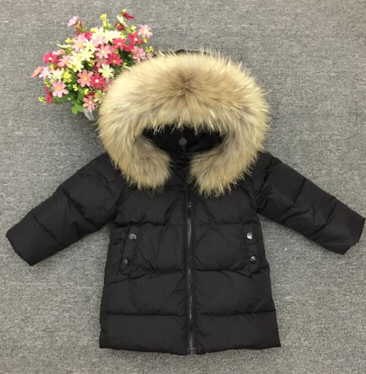 Winter in Russia girls boys warm down 90% duck clothing winter jacket for girl children and appropriate down jackets все цены