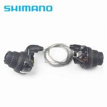 Shimano SL-RS35 3x6S 3x7 18 velocidades 21s MTB bicicleta palanca de cambios bicicleta giro palanca de freno/palanca de cambio conjunto