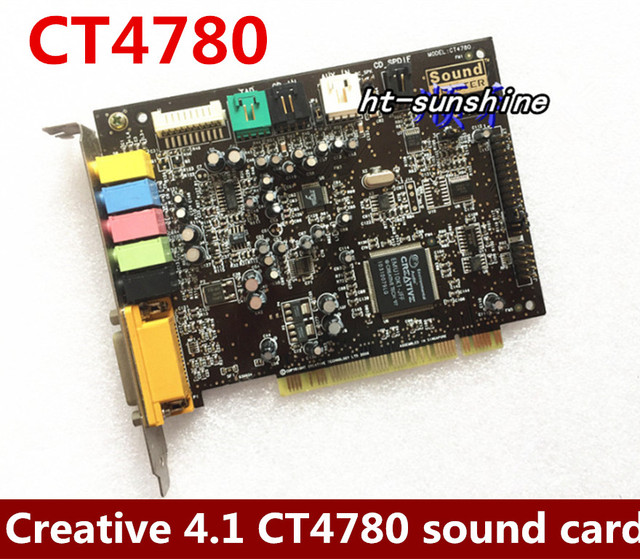 CREATIVE SOUND BLASTER MODEL CT4780 WINDOWS 7 X64 TREIBER
