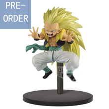 Presale August Original Banpresto Dragonball  Super Saiyan 3 Gotenks PVC action figure model Figurals цена