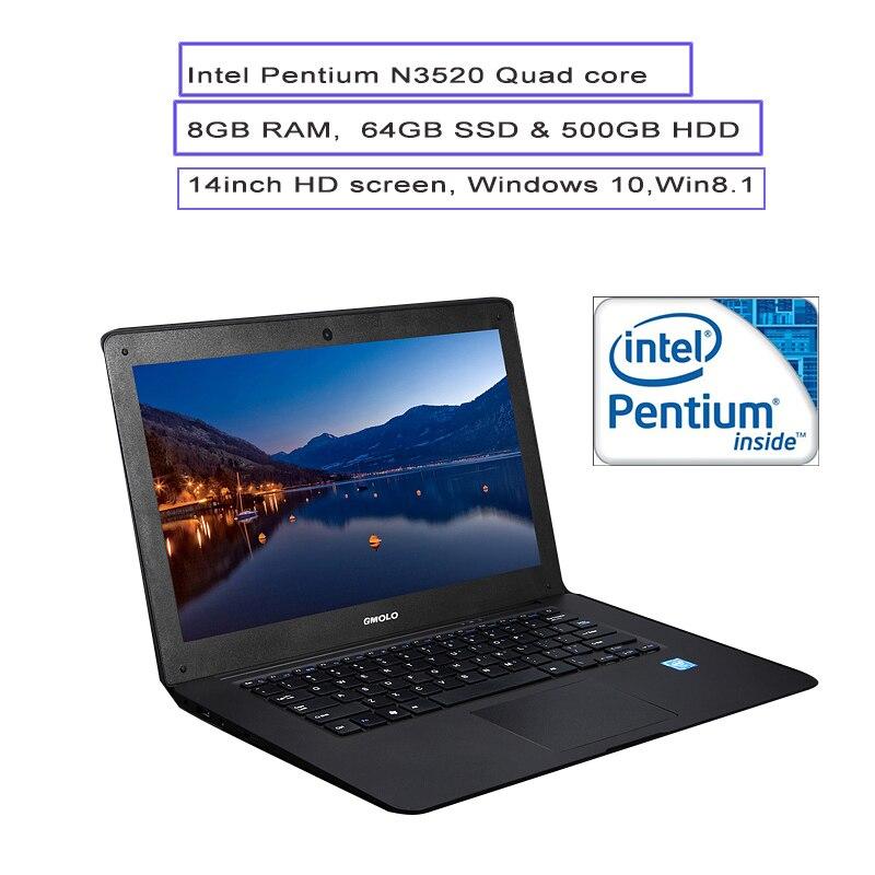 A3 laptop 8G 64GB 500GB