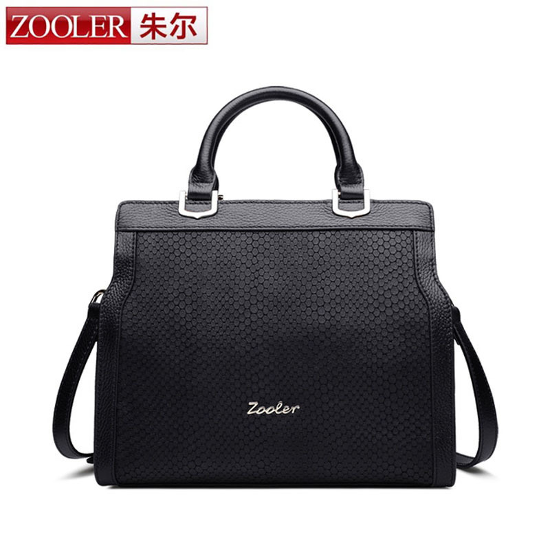 ZOOLER 2018 Women Business Bag Handbag Shoulder Bags Women Messenger Bags Elegant Lady Leather Handbags Design Female Tote Bag women floral leather shoulder bag new 2017 girls clutch shoulder bags women satchel handbag women bolsa messenger bag