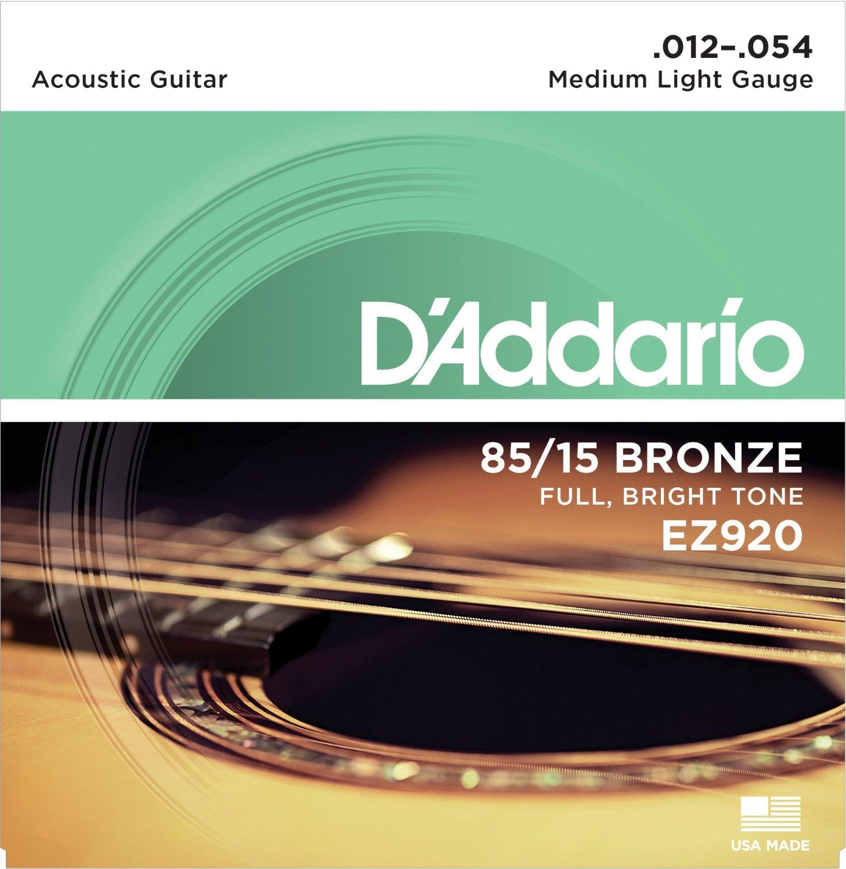 D'Addario Great American Bronze 85/15 akoestische gitaarsnaren, Made - Muziekinstrumenten - Foto 5