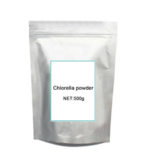 500g GMP certified 99 Pure natural Chlorella rich of chlorophyll Hot sale free shipping