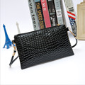 New Bag Ladies Wallet Hand Bag Fashion Mobile Long Crocodile Grain Messenger Bag