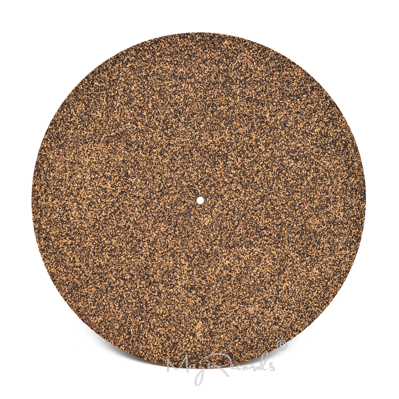 Cork & Rubber Turntable Platter Mat Slipmat Anti-Static For LP Vinyl Record