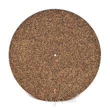 Cork & Rubber Turntable Platter Mat Slipmat Anti Static For LP Vinyl Record