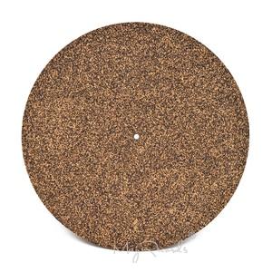Image 1 - Cork & Rubber Turntable Platter Mat Slipmat Anti Static For LP Vinyl Record