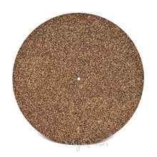 Cork & ยาง Turntable Platter Mat Slipmat Anti Static สำหรับ LP บันทึกไวนิล