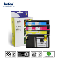 4 Pcs Set Color Ink Cartridge Compatible For HP 950XL 951XL 950 951 XL For HP