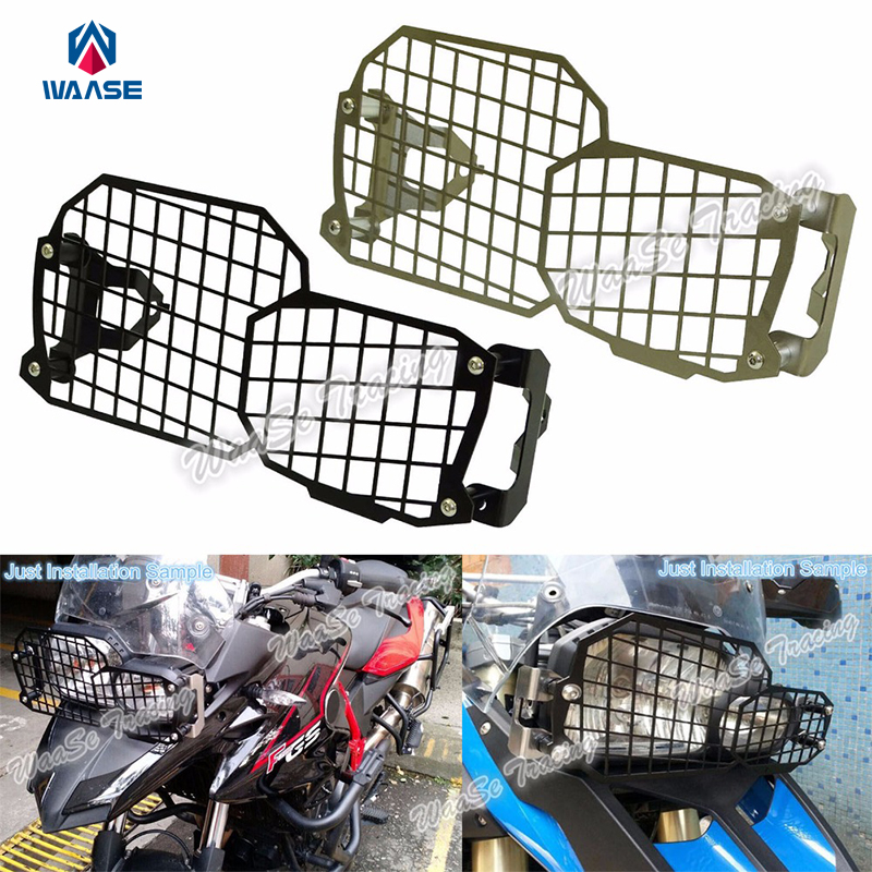 Motorcycle Headlight Grille Guard Cover Protector For BMW F650GS F700GS F800R F800GS / ADV 2008 2009 2010 2011 2012 2013 - 2016 motorcycle radiator grill grille guard screen cover protector 2 color options for bmw f800r 2009 2010 2011 2012 2013 2014