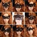 9 Estilo de Encaje Fiesta de Disfraces Máscaras de Ojo de Las Mujeres Eyewear de Masquerad para Halloween