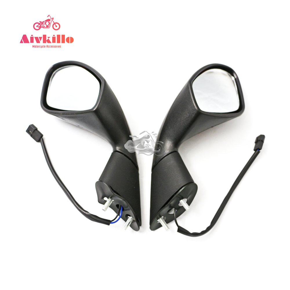 Turn Signal Rear View Side Mirrors for Aprilia RSV4 2004-2014 05 06 07 08 09 10 11 12 13 Motorcycle