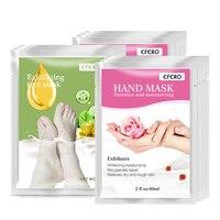 EFERO 3pairs Foot Mask Exfoliating Socks Peeling Dead Skin+ 3pairs Hand Mask Moisturising Anti Wrinkle Whitening Skin Care Glove Skin Care