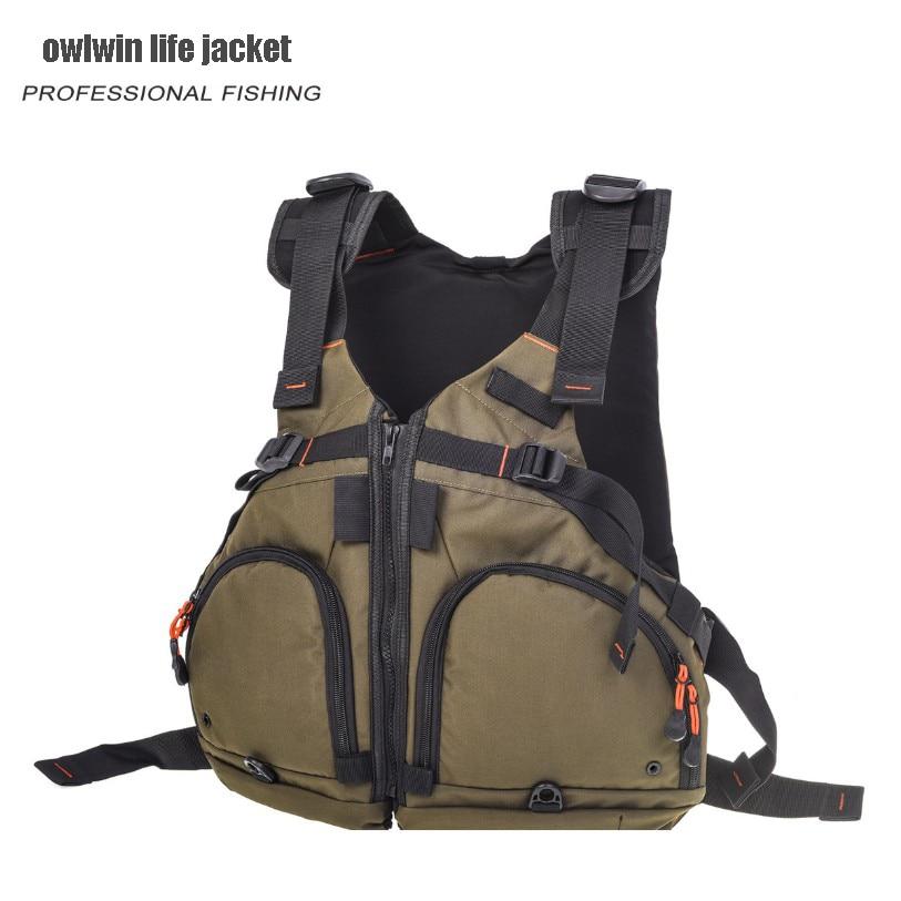 fishing life vest life jacket Professional Luya Buoyancy fishing vest Buoyancy 90KG Life Vest     - title=