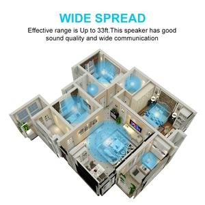 Image 4 - HAAYOT Mini waterproof Wireless Speaker FM Radio Bluetooth 4.2 Build In Microphone Water Resistant Shower Speaker With LED Light