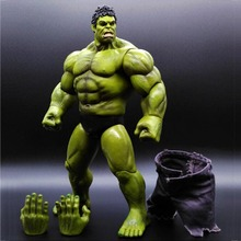 NEW hot 22cm avengers hulk Pants are cloth action figure toys collection Christmas gift doll