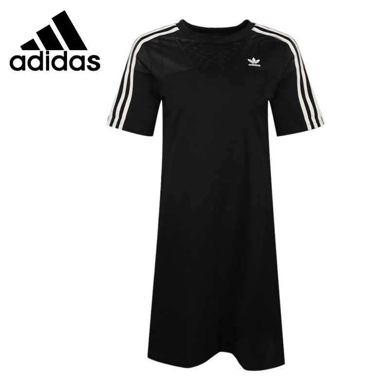 Original New Arrival  Adidas Originals  TEE DRESS Women's Dress Sportswear