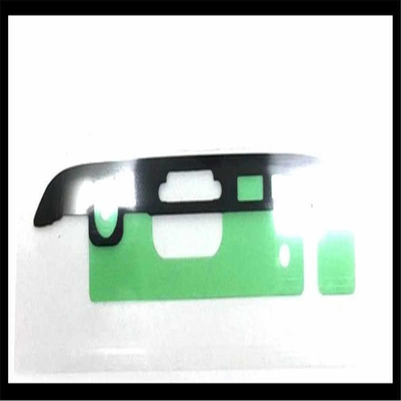 1 مجموعة = 2 قطع أعلى + أسفل LCD الجبهة الإطار الحافة ملصق لسامسونج غالاكسي S7 حافة G935 G9350 لاصق لاصق إصلاح الحنفية ملصقات