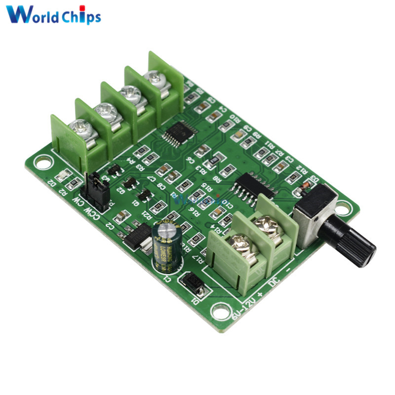 1pc <font><b>5V</b></font>-<font><b>12V</b></font> <font><b>DC</b></font> <font><b>Brushless</b></font> <font><b>Driver</b></font> <font><b>Board</b></font> Controller For Hard Drive Motor 3/4 Wire New image