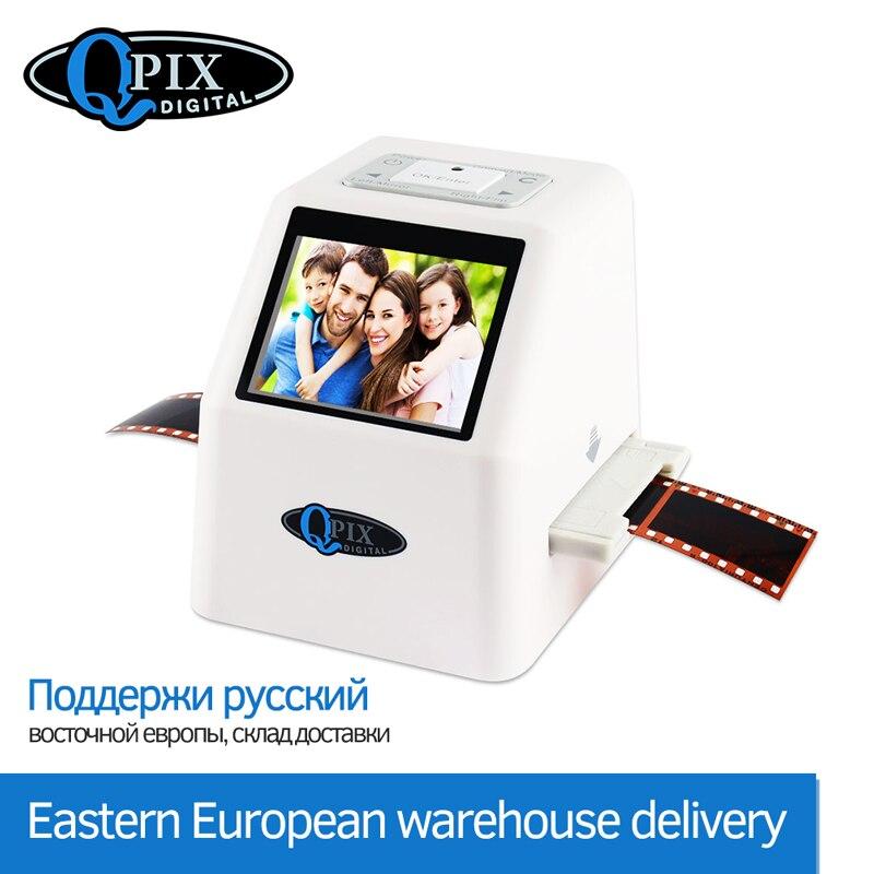 Portable 35mm scanner de Film Numérique Film Convertisseur avec 22 Mega Pixels 110 135 126KPK Super 8 Slide Négatif Photo scanner de Film