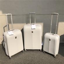 Французский модный бренд, масштабируемый багаж на колесиках для мужчин и женщин, устойчивый к царапинам, носимая, чемодан на колесиках