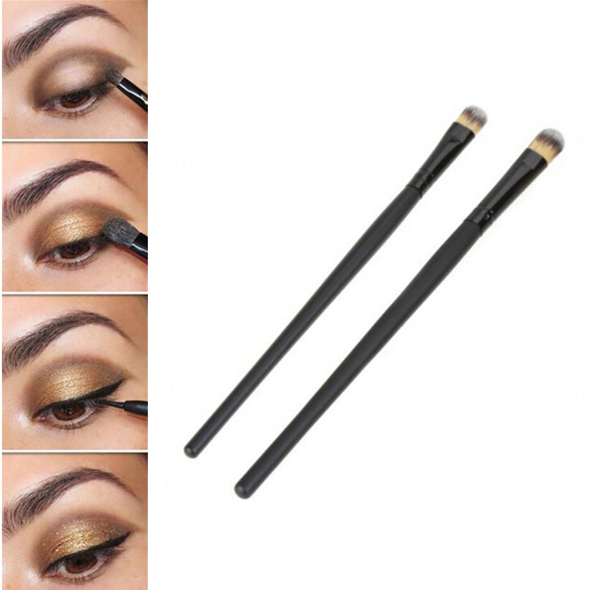 NEW 10 PCS Professional Makeup Cosmetics Brushes Eye Shadows Eyeliner Nose Smudge Brush Tool Set Kit Hot Sale BO