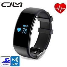 Original DFit D21 Heart Rate Monitor Smartband Waterproof Swim Smart Band Bracelet Health Fitness Tracker for