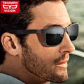 TRIUMPH VISION HD TAC Polarized Sunglasses Men High Quality Metal Driving Sun Glasses Male UV400 Lens Cool Style Shades Oculos