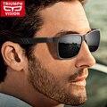 Triumph vision hd tac polarizado gafas de sol hombres de metal de alta calidad de conducción gafas de sol masculinas estilo fresco shades oculos uv400 lente