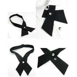 1 шт. милые модные Дизайн Для Мужчин's Для женщин Регулируемая Боути крест галстук мужской галстук