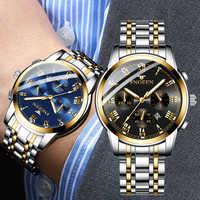 Homme à succès horloge d'affaires non-mécanique hommes Montre grandeur quartz hommes montres étanche lumineux Homme Montre Montre Homme