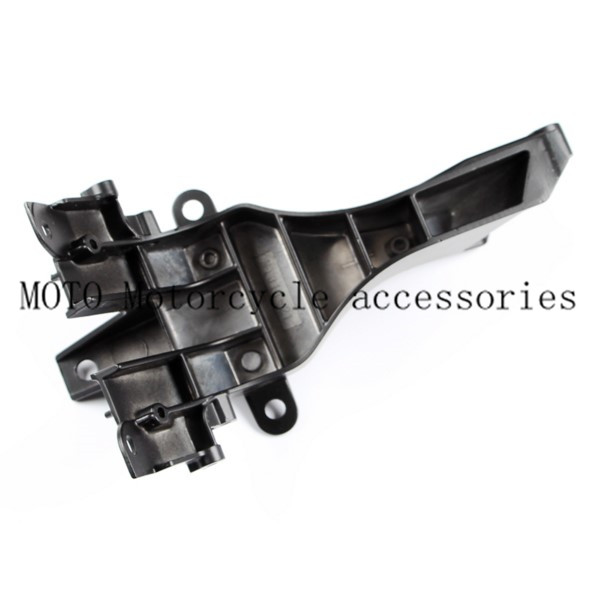 Black Motorcycle Upper Front Fairing Cowl Stay Headlight Bracket For Kawasaki Ninja ZX-14 / ZX-14R / ZX1400 2012-2014