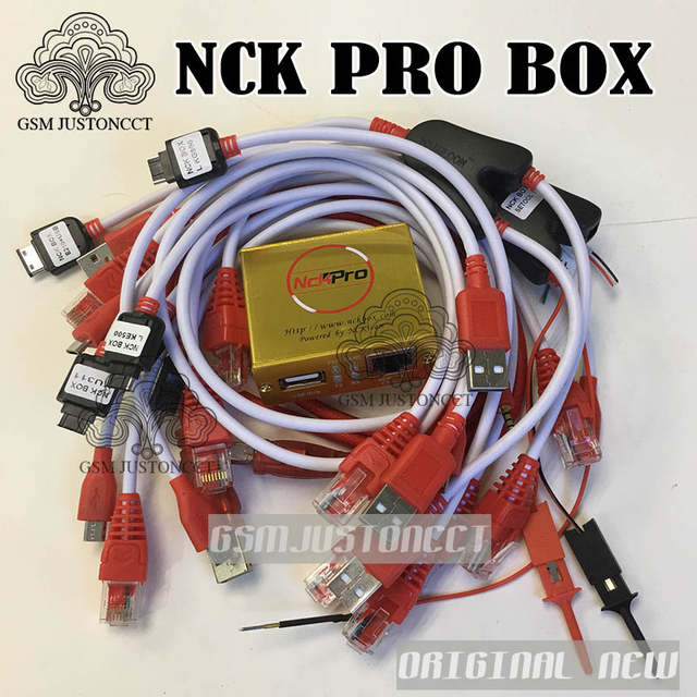 Original NCK PRO BOX NCK Pro 2 box (support NCK+ UMT 2 in 1)new update For  Huawei +15cables+Free shipping