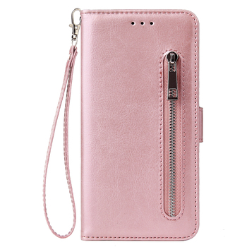 For iPhone 6 6S 7 8 Plus X XR XS Max Wallet Leather Case fashion zipper Flip Stand for iPhone 11Pro Max Cover Mobile Phone Bag 2