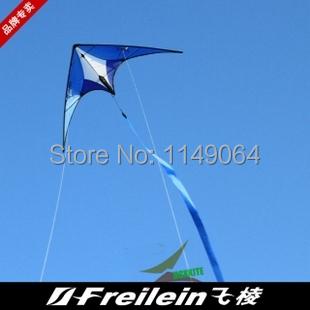 Envío de la alta calidad mini doble línea de la cometa con mango colas rápido vuelo de la cometa con la línea de mango al aire libre juguetes albatros kite