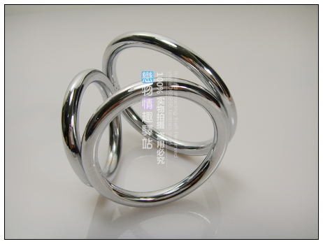 Male stainless steel metal membranously delay ring 3rd ring hardiest