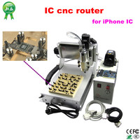 IC cnc router 3020 for CPU, HHD, WIFI, FONT chips 3020 grinding repairing machine