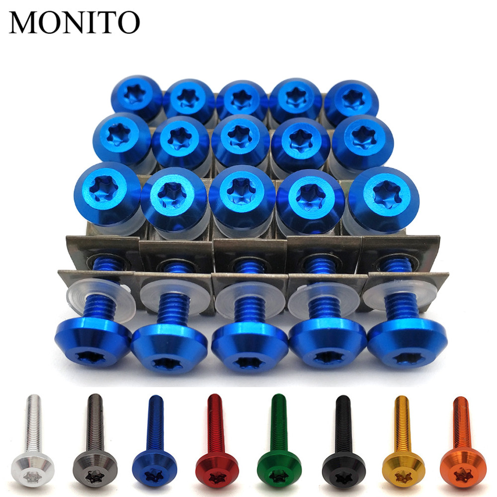Hornig Stainless Steel Body Panel Bolt kit for BMW R1150RT contains 55 new screws HOR-70020