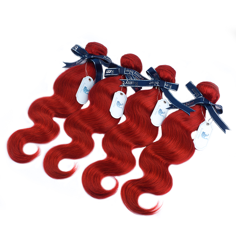 Remyblue pacotes de cabelo onda do corpo