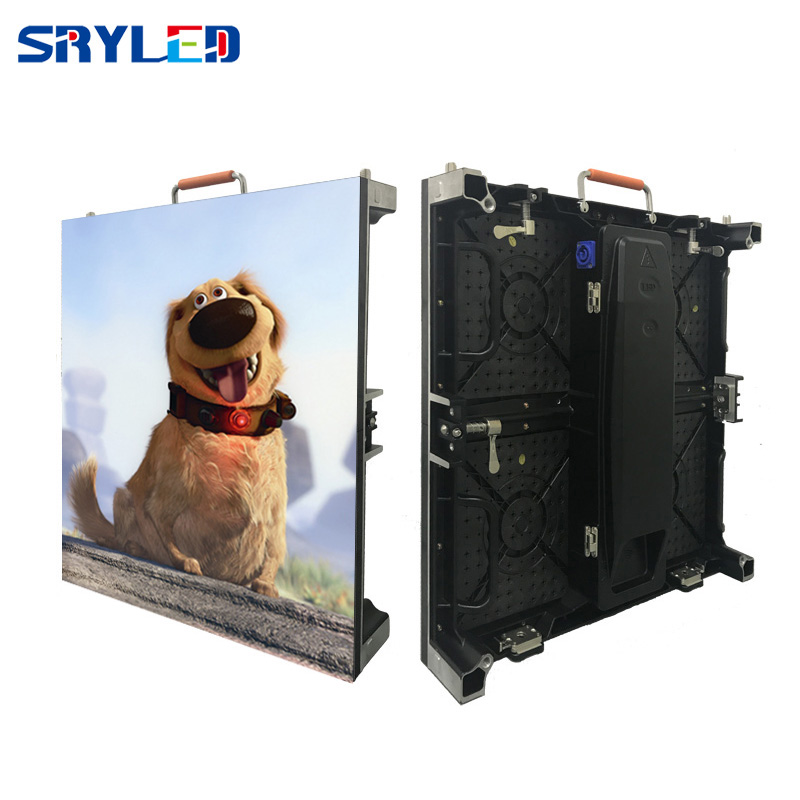 Curved Full Color HD LED Display Screen P4.81 / Indoor LED Video Screen P4.81 SMD 2121 500x500mm Led Cabinet